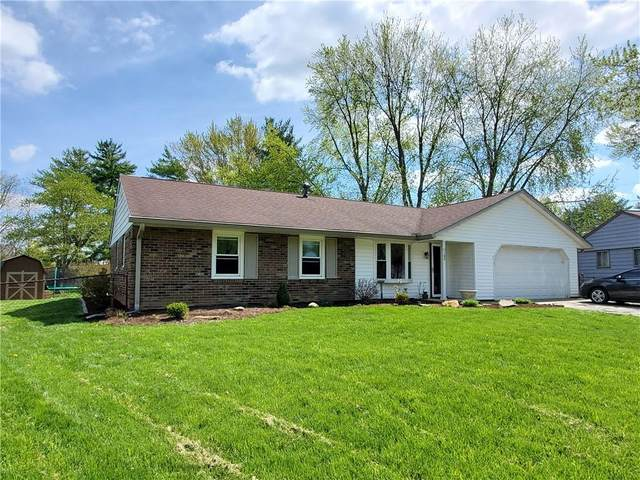 1105 Brookside Lane, Plainfield, IN 46168 (MLS #21778709) :: The Indy Property Source
