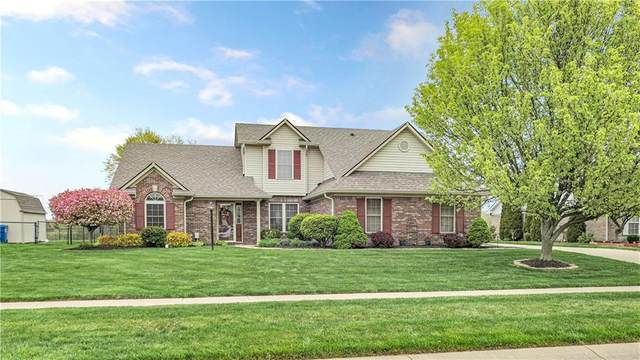 7144 Sunset Point Drive, Indianapolis, IN 46259 (MLS #21778712) :: David Brenton's Team