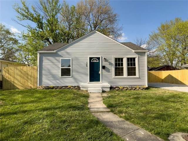 1140 Martin Street, Indianapolis, IN 46227 (MLS #21778731) :: David Brenton's Team