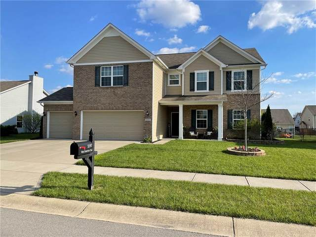 5597 W Stoneview Trail, Mccordsville, IN 46055 (MLS #21778733) :: The Evelo Team