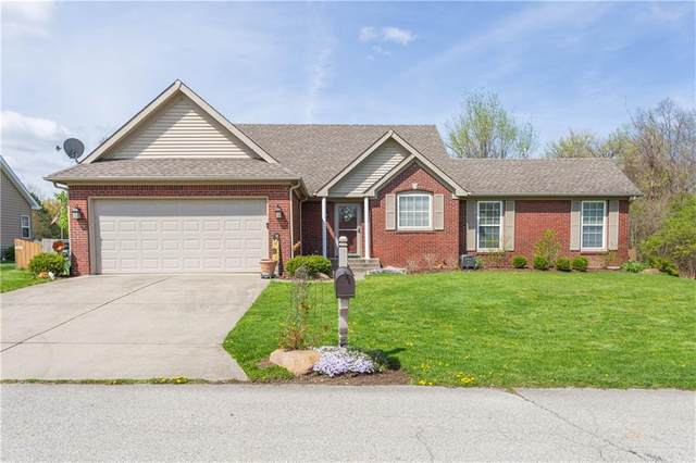 6366 Pleasant Woods Lane, Indianapolis, IN 46236 (MLS #21778768) :: The Evelo Team