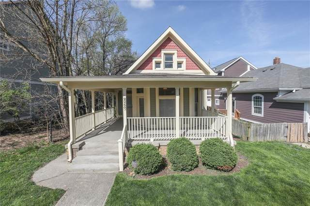 2260 N Pennsylvania Street, Indianapolis, IN 46205 (MLS #21778771) :: The Indy Property Source