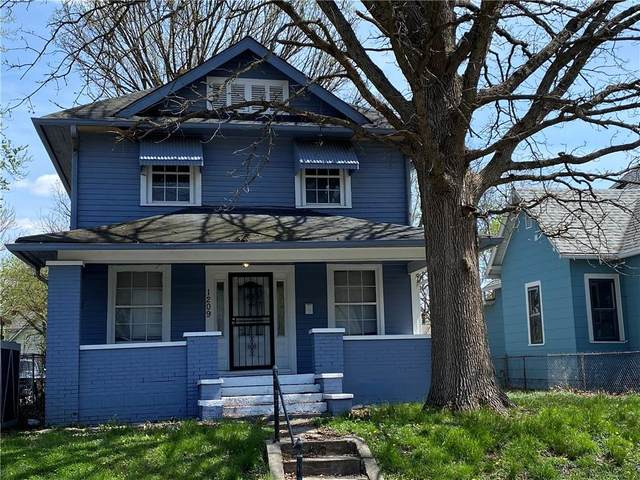1209 N Tuxedo Street, Indianapolis, IN 46201 (MLS #21778805) :: Anthony Robinson & AMR Real Estate Group LLC