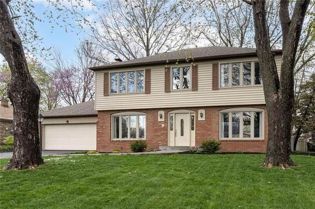 2740 Pomona Court, Indianapolis, IN 46268 (MLS #21778829) :: David Brenton's Team