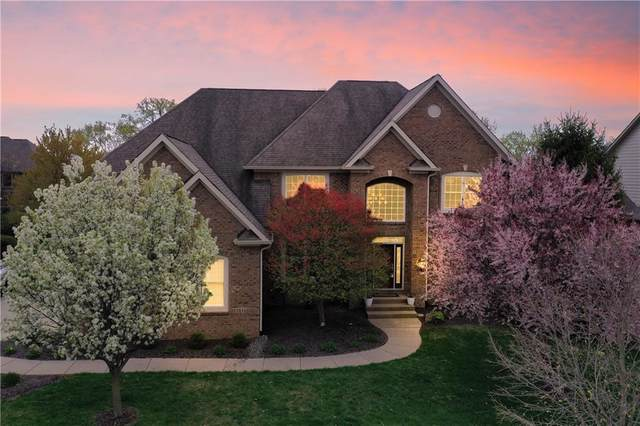 14303 Hearthwood Drive, Fishers, IN 46040 (MLS #21778830) :: The Evelo Team