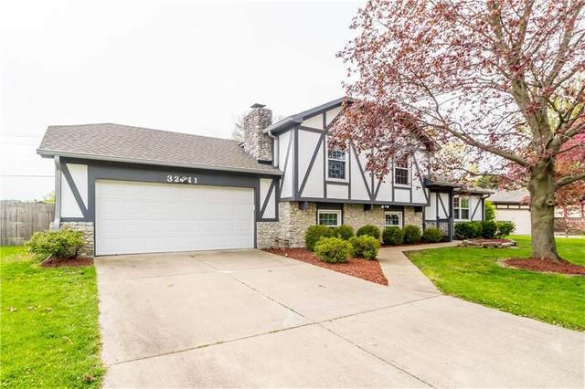 3211 Babette Drive, Indianapolis, IN 46227 (MLS #21778846) :: The Indy Property Source