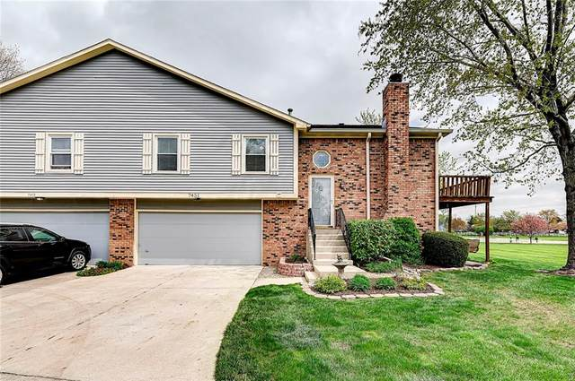 7451 Prairie Lake Drive, Indianapolis, IN 46256 (MLS #21778850) :: The Evelo Team