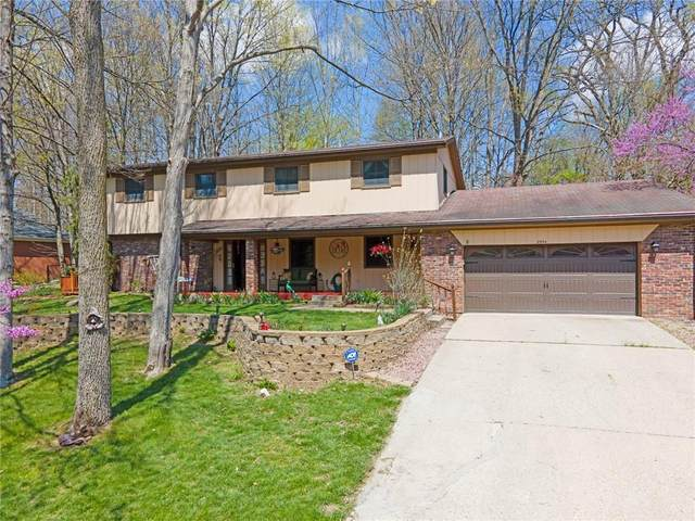 8954 Log Run Drive S, Indianapolis, IN 46234 (MLS #21778871) :: AR/haus Group Realty