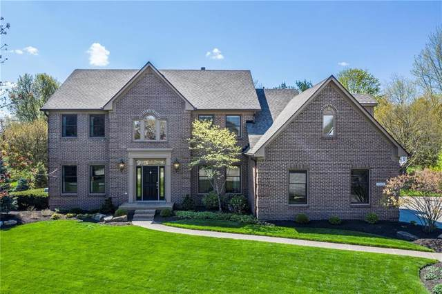 12889 Brighton Circle, Carmel, IN 46032 (MLS #21778885) :: Richwine Elite Group