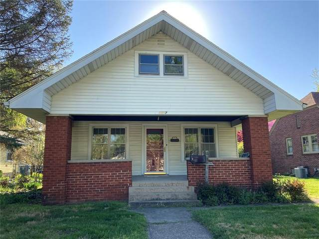 6327 N Park Avenue, Indianapolis, IN 46220 (MLS #21778928) :: The Indy Property Source