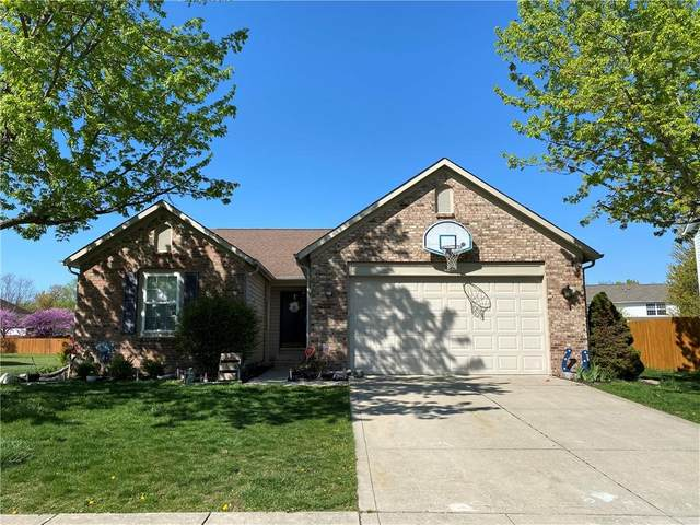 14028 Mimosa Court, Fishers, IN 46038 (MLS #21778930) :: The Evelo Team