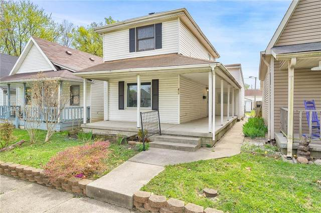 815 Birch Avenue, Indianapolis, IN 46221 (MLS #21778956) :: Mike Price Realty Team - RE/MAX Centerstone