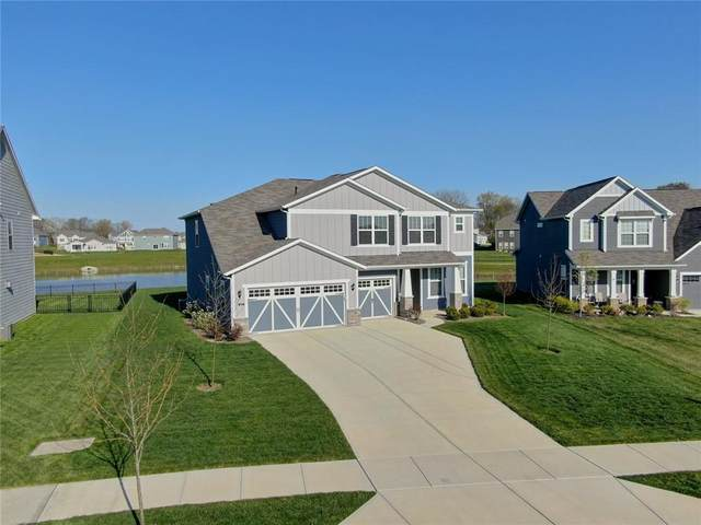 5658 Mahogany Drive, Noblesville, IN 46062 (MLS #21779064) :: David Brenton's Team