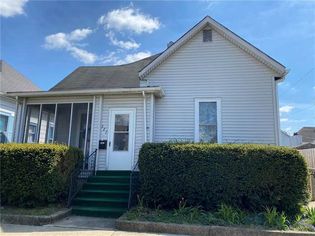 327 W Taylor Street, Shelbyville, IN 46176 (MLS #21779098) :: The Evelo Team
