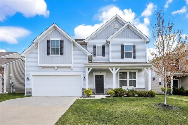 5766 Blue Sky Drive, Whitestown, IN 46075 (MLS #21779100) :: RE/MAX Legacy