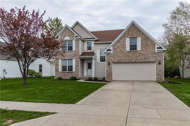 11303 Falling Water Way, Fishers, IN 46037 (MLS #21779146) :: AR/haus Group Realty