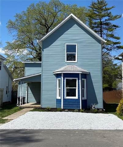 208 N West Street, Alexandria, IN 46001 (MLS #21779242) :: The ORR Home Selling Team