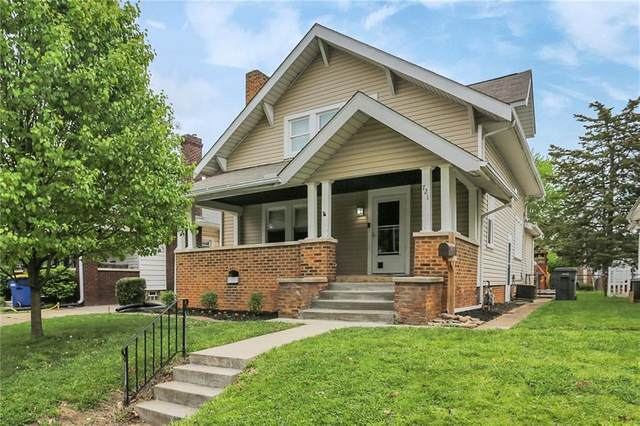 721 N Wallace, Indianapolis, IN 46201 (MLS #21779300) :: Anthony Robinson & AMR Real Estate Group LLC