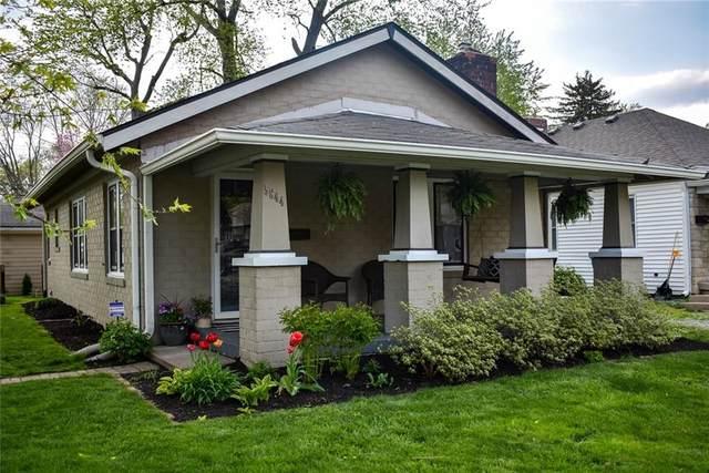 5844 Primrose Avenue, Indianapolis, IN 46220 (MLS #21779321) :: RE/MAX Legacy