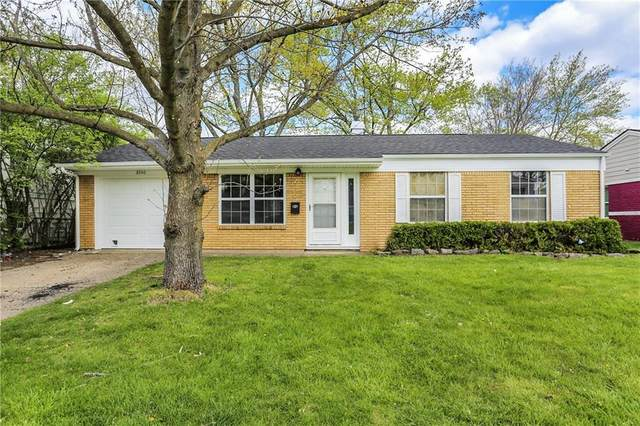 8540 E 37th Place, Indianapolis, IN 46226 (MLS #21779348) :: RE/MAX Legacy