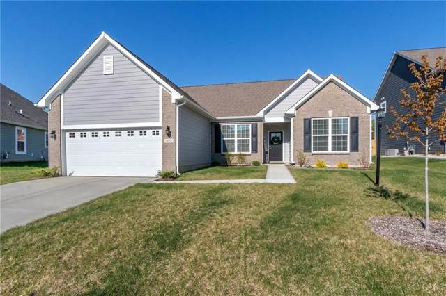 4871 Harris Place, Greenwood, IN 46142 (MLS #21779389) :: The Evelo Team
