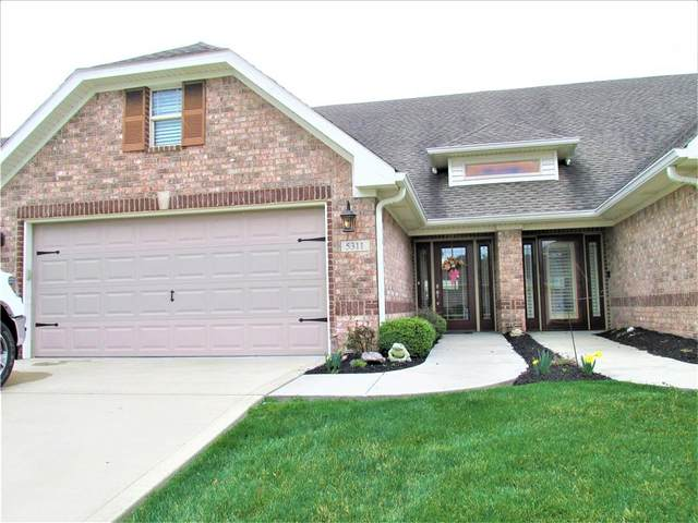 5311 Buckingham Lane, Plainfield, IN 46168 (MLS #21779396) :: David Brenton's Team
