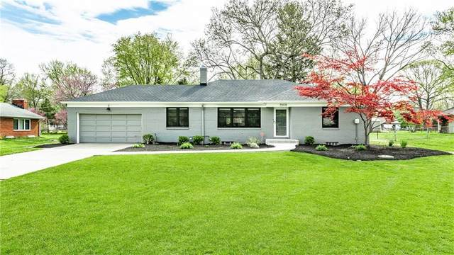 7909 Meadowbrook Drive, Indianapolis, IN 46240 (MLS #21779406) :: Anthony Robinson & AMR Real Estate Group LLC