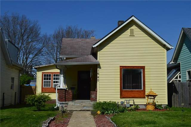 1640 Bellefontaine Street, Indianapolis, IN 46202 (MLS #21779413) :: The Evelo Team