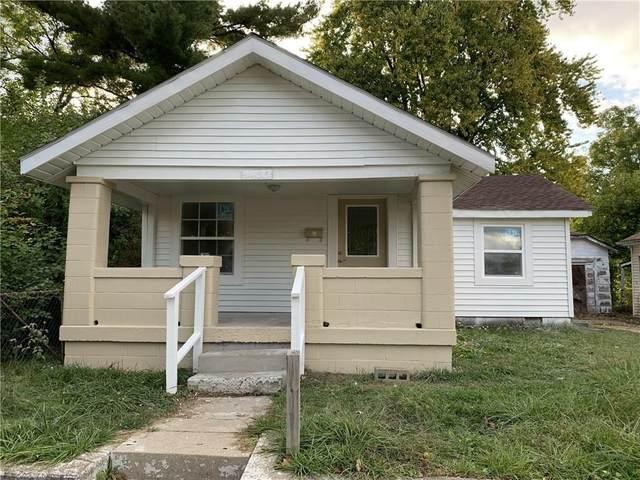 2435 Brown Street, Anderson, IN 46016 (MLS #21779435) :: AR/haus Group Realty