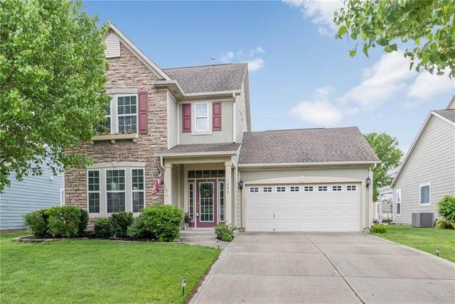 1295 Townsend Drive, Greenwood, IN 46143 (MLS #21779455) :: AR/haus Group Realty