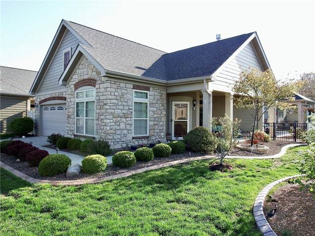 566 Bridgestone Drive, Mooresville, IN 46158 (MLS #21779620) :: David Brenton's Team