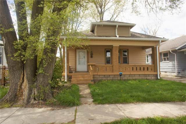 1246 N Holmes Avenue, Indianapolis, IN 46222 (MLS #21780671) :: The Evelo Team