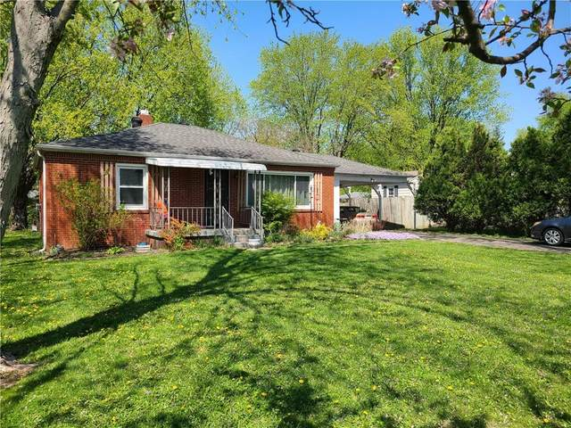 134 Hoss Road, Indianapolis, IN 46217 (MLS #21780694) :: Mike Price Realty Team - RE/MAX Centerstone