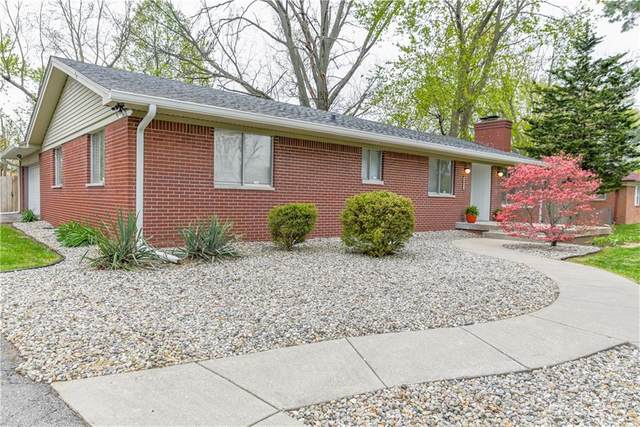 4511 Thornleigh Drive, Indianapolis, IN 46226 (MLS #21780713) :: David Brenton's Team