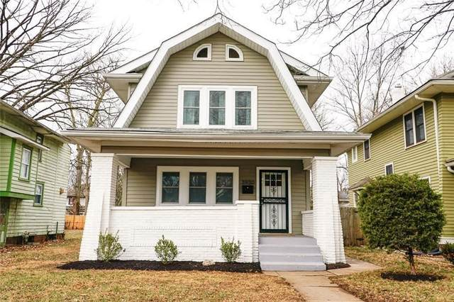 3930 Winthrop Avenue, Indianapolis, IN 46205 (MLS #21780787) :: RE/MAX Legacy