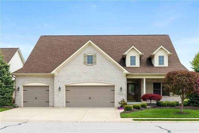 4041 Bayberry Way, Greenwood, IN 46143 (MLS #21780796) :: Richwine Elite Group