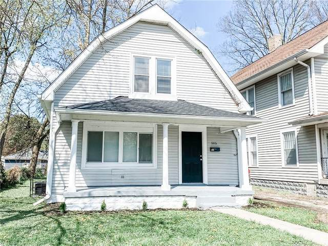 606 N Colorado, Indianapolis, IN 46201 (MLS #21780837) :: David Brenton's Team