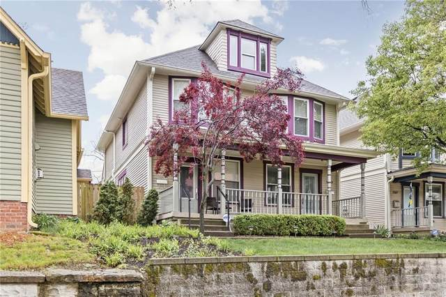 1209 Sturm Avenue, Indianapolis, IN 46202 (MLS #21780962) :: The ORR Home Selling Team
