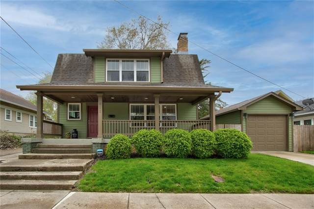 611 E 40TH Street, Indianapolis, IN 46205 (MLS #21781030) :: The Evelo Team