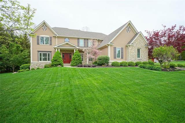 10205 Hickory  Ridge Drive, Zionsville, IN 46077 (MLS #21781047) :: Heard Real Estate Team | eXp Realty, LLC