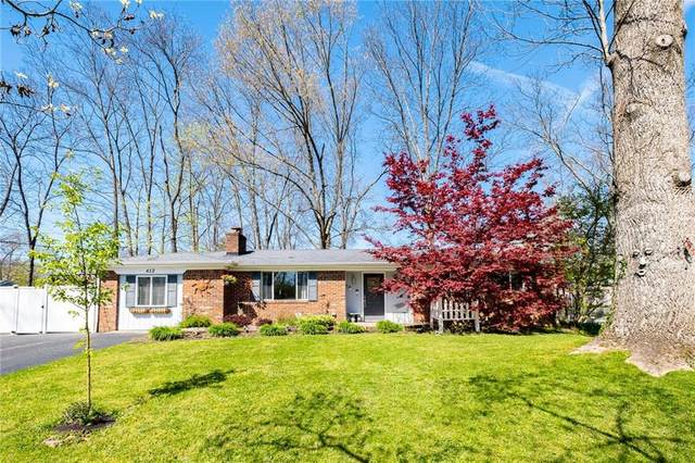 412 Wells Drive, Nashville, IN 47448 (MLS #21781073) :: RE/MAX Legacy