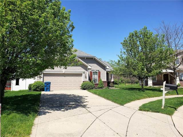 8140 Harshaw Drive, Indianapolis, IN 46239 (MLS #21781137) :: RE/MAX Legacy