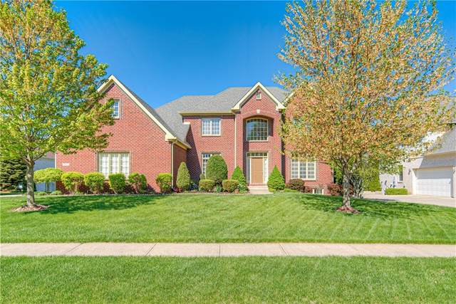 9983 Soaring Eagle Lane, Fishers, IN 46055 (MLS #21781203) :: Anthony Robinson & AMR Real Estate Group LLC