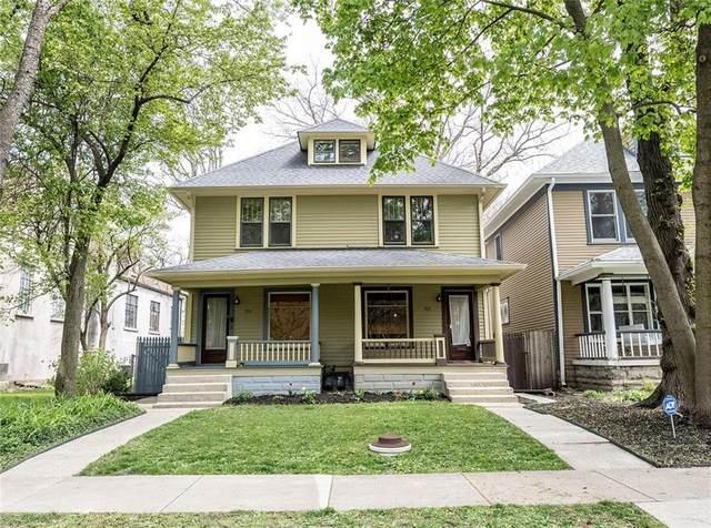 717 Woodruff Place East Drive, Indianapolis, IN 46201 (MLS #21781264) :: Keller & Corbett Real Estate