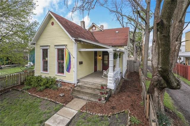 1122 E 9TH Street, Indianapolis, IN 46202 (MLS #21781266) :: AR/haus Group Realty