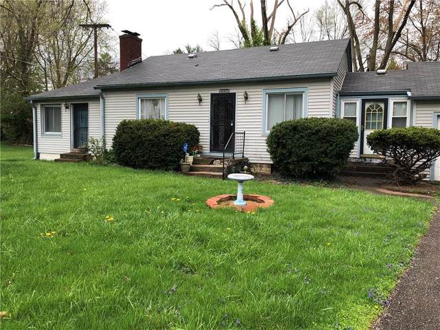 2226 Riviera Street, Indianapolis, IN 46260 (MLS #21781357) :: Mike Price Realty Team - RE/MAX Centerstone
