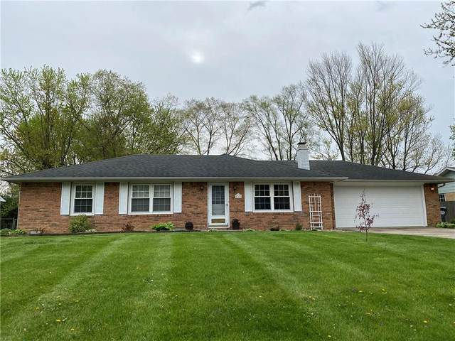 116 N Mustin Drive, Anderson, IN 46012 (MLS #21781424) :: AR/haus Group Realty