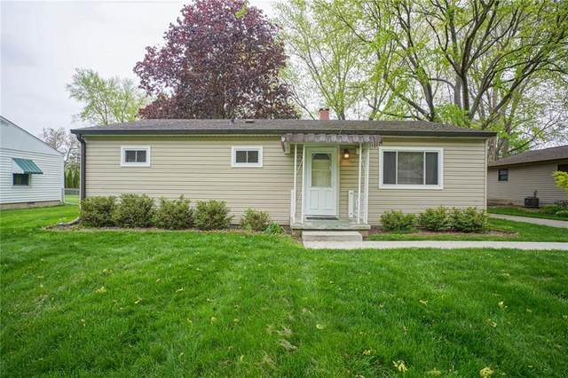 8421 Winthrop Avenue, Indianapolis, IN 46240 (MLS #21781449) :: The Evelo Team