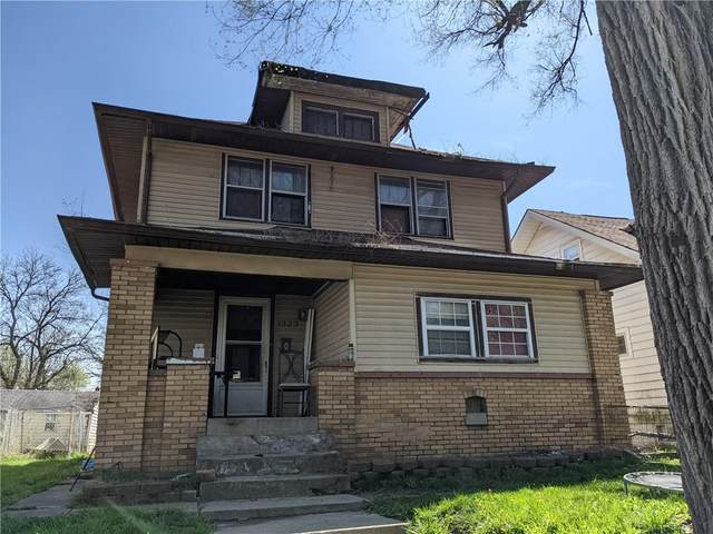 1323 N Dearborn Street, Indianapolis, IN 46201 (MLS #21781472) :: Anthony Robinson & AMR Real Estate Group LLC