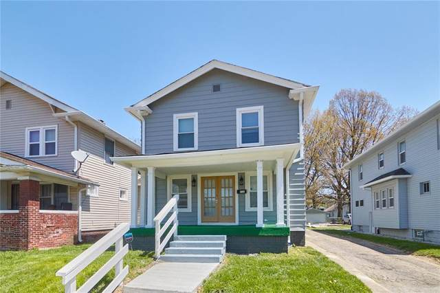 721 N Grant Avenue, Indianapolis, IN 46201 (MLS #21781576) :: Mike Price Realty Team - RE/MAX Centerstone